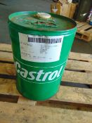 Qty 1 x 20 Ltr Castrol Calibration Oil C Direct from Reserve Stores