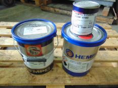 Qty 1 x Hemucryl Ti-Coat 18200, 1 x Hempel Pro Acrylic 55880 Direct from Reserve Stores