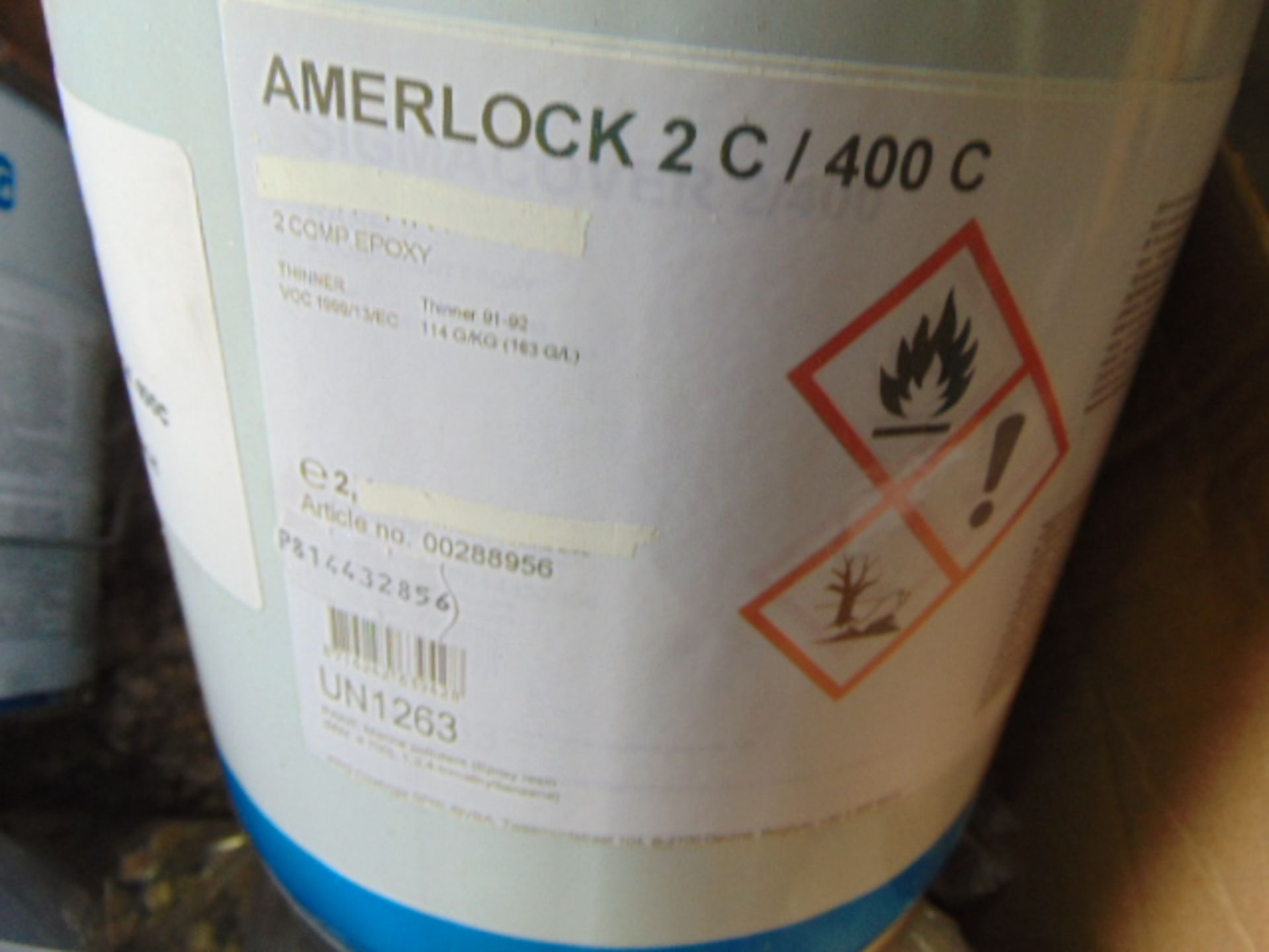 Lot 127 - Qty 2 x Amerlock 2C/ 400C Direct from Reserve Stores