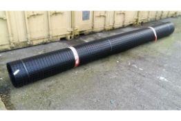 1 x UNISSUED Tensar SS20 Geogrid Ground Foundation Reinforcement Roll 4m x 75m