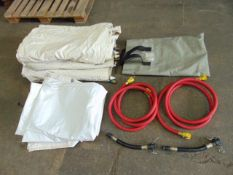 Selection of Decontamination Shower Sections