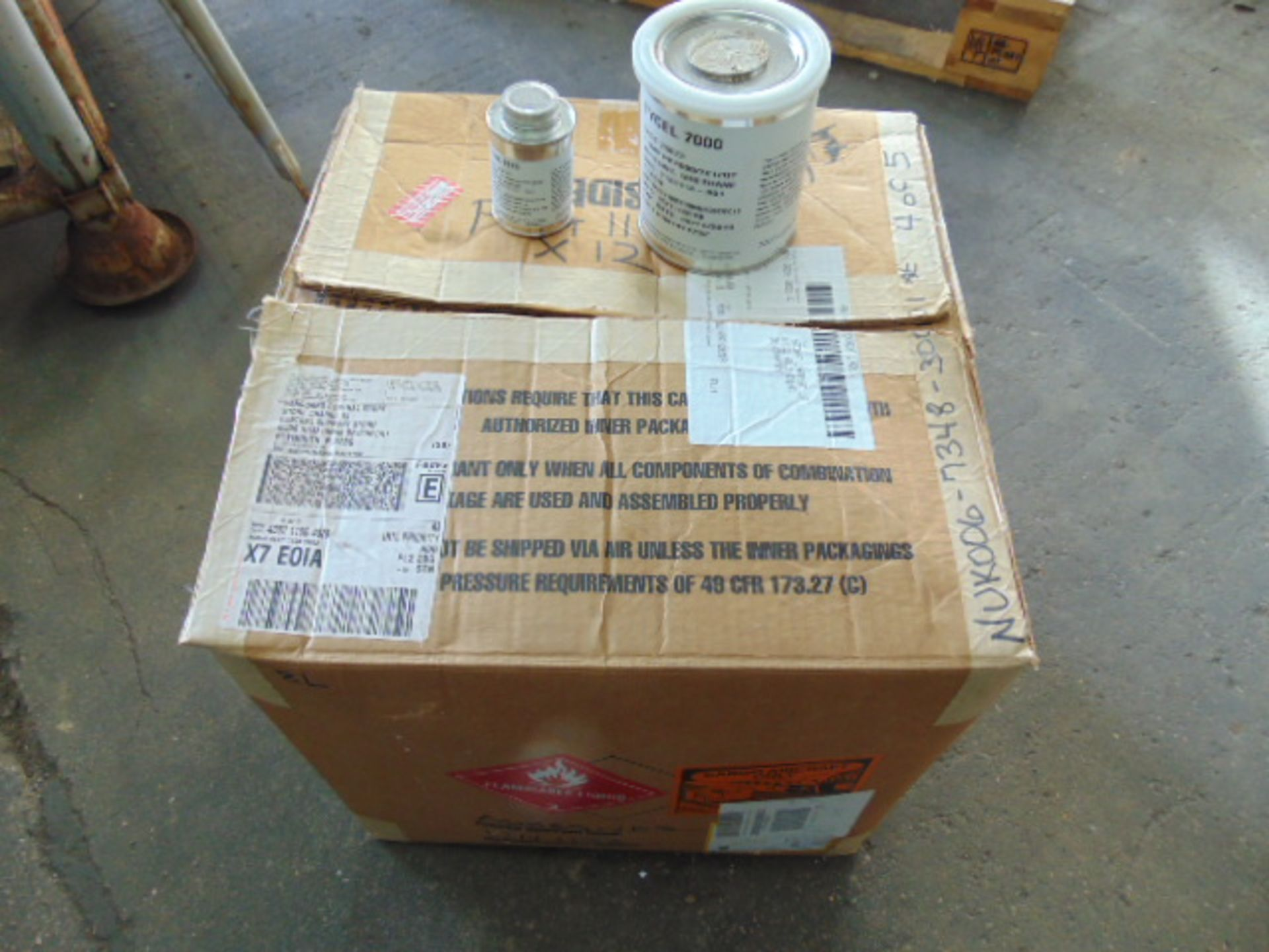 Lot 119 - Qty 12 x 2-Part Henkel Tycel 7000 Urethane Adhesive Direct from Reserve Stores