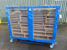 Double Sided Mobile Tool Trolley