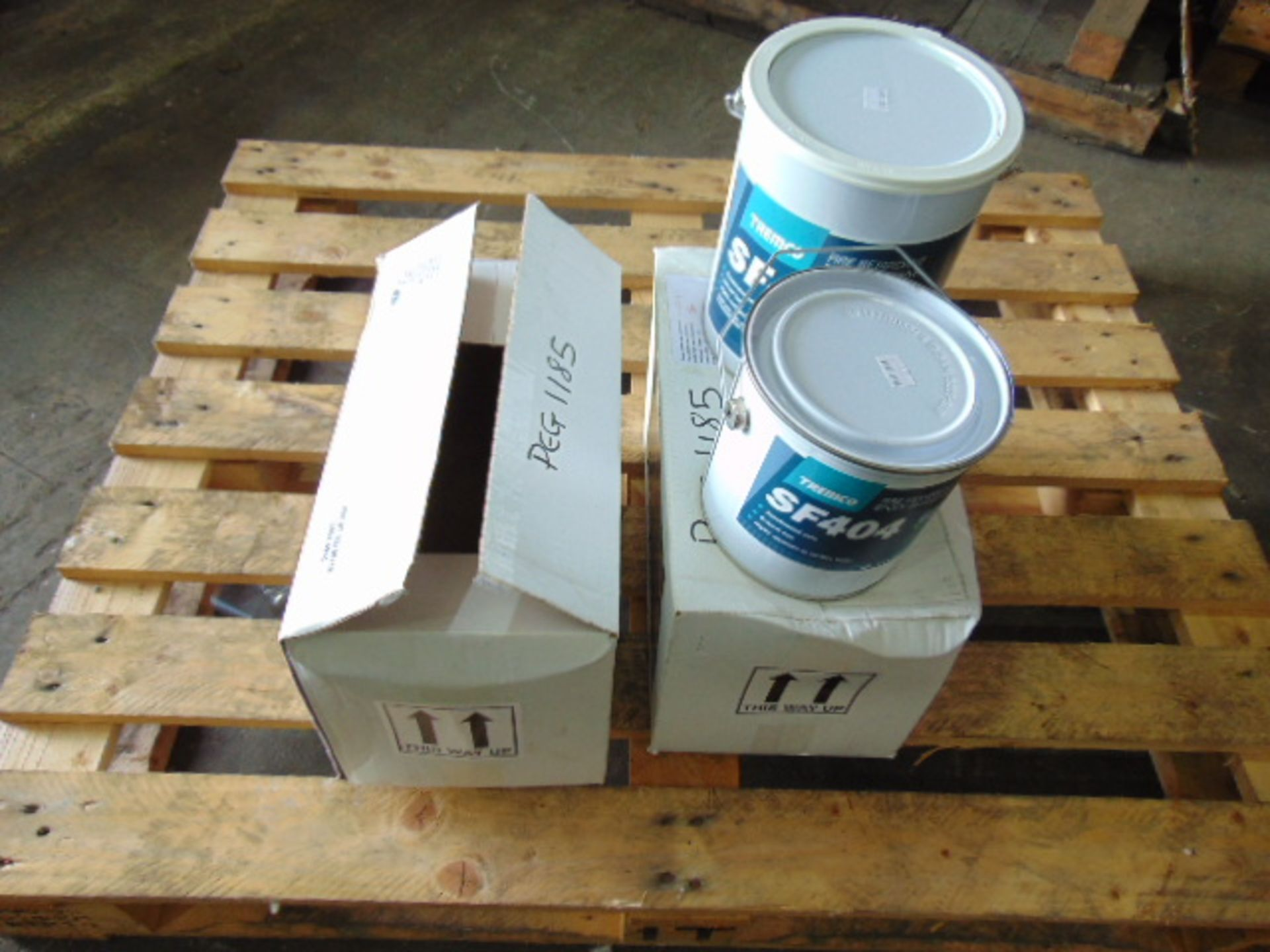 Lot 125 - Qty 2 x Tremco SF404 Fire Retardant Epoxy Adhesive Direct from Reserve Stores