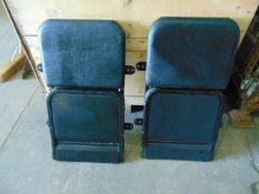 Qty 2 x Unissued Wall Mounted Seats