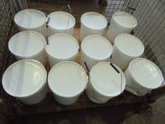 Qty 12 x 10 Ltr Sealfas 30-36 White direct from reserve stores