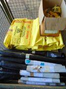 Stillage of Bio Waste Bags, Warning Tape , Etc