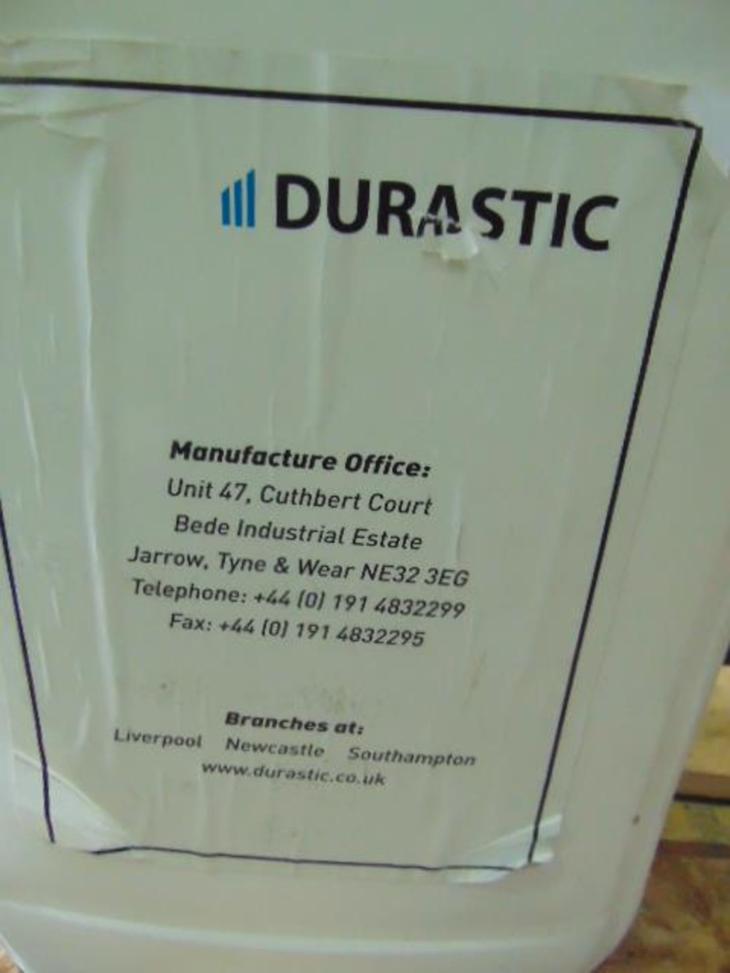 Lot 74 - Qty 1 x 25 Ltr Durastic N340 Liquid direct from reserve stores