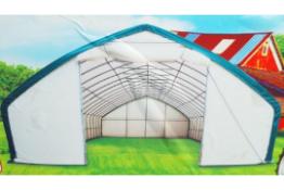 Heavy Duty Storage Shelter 30'W x 65'L x 15' H