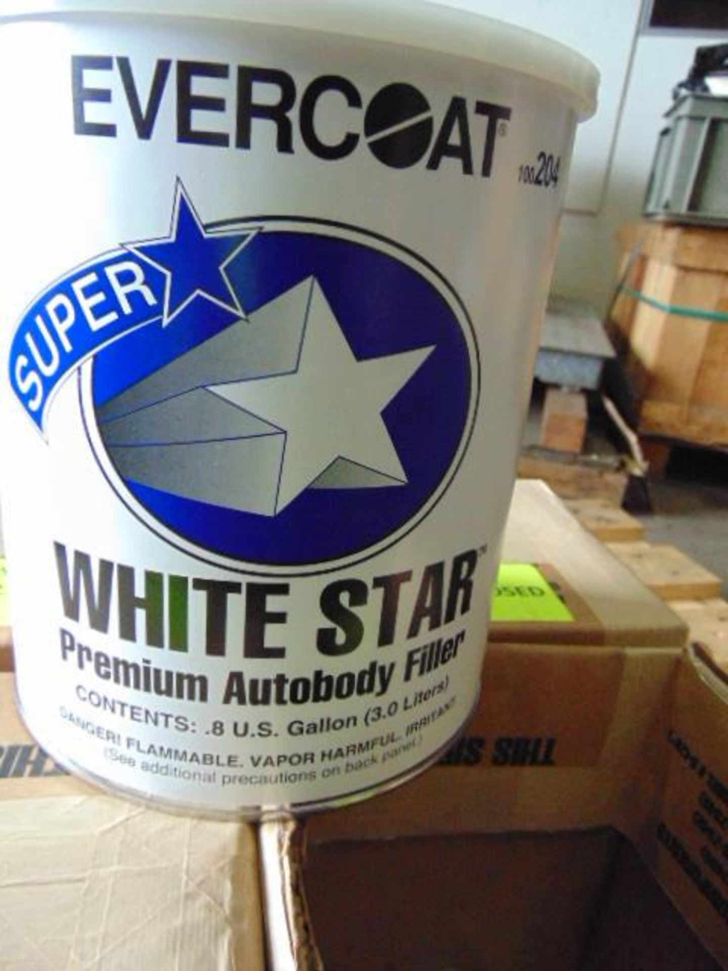 Lot 126 - Qty 4 x Evercoat White Star Premium Body Filler Direct from Reserve Stores