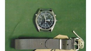 1 x Seiko Pilots Chronograph Generation 2, the part number is NSN6645-998149181. It is dated 1995