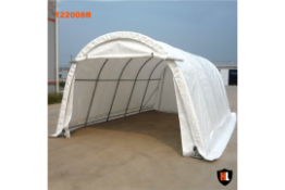 Heavy Duty Hardlife Garage Tent 12'W x 20'L x 8' H P/No 122008R