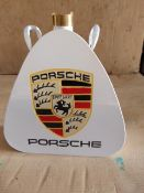 Reproduction Porsche Branded Oil Cans
