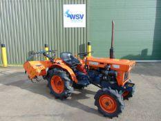 Kubota B7001 Compact Tractor with Rotovator