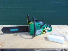 Unissued Gardenline 41cc Petrol Chainsaw