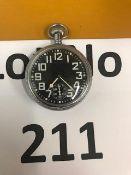 Very Rare Waltham Non Luminous RN Submarine Issue Watch.