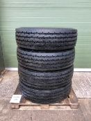 Qty 4 x 315 - 80R 22.5 Michelin XZY - 2 Tyres, unused with bobbles