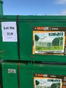 40ft x 20ft x 6.6ft Container Storage Shelter New Unissued