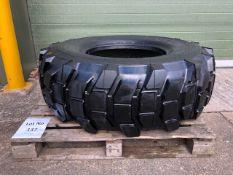 17.5 R (445 / 80 R 25) Michelin XLB Tyre unused.