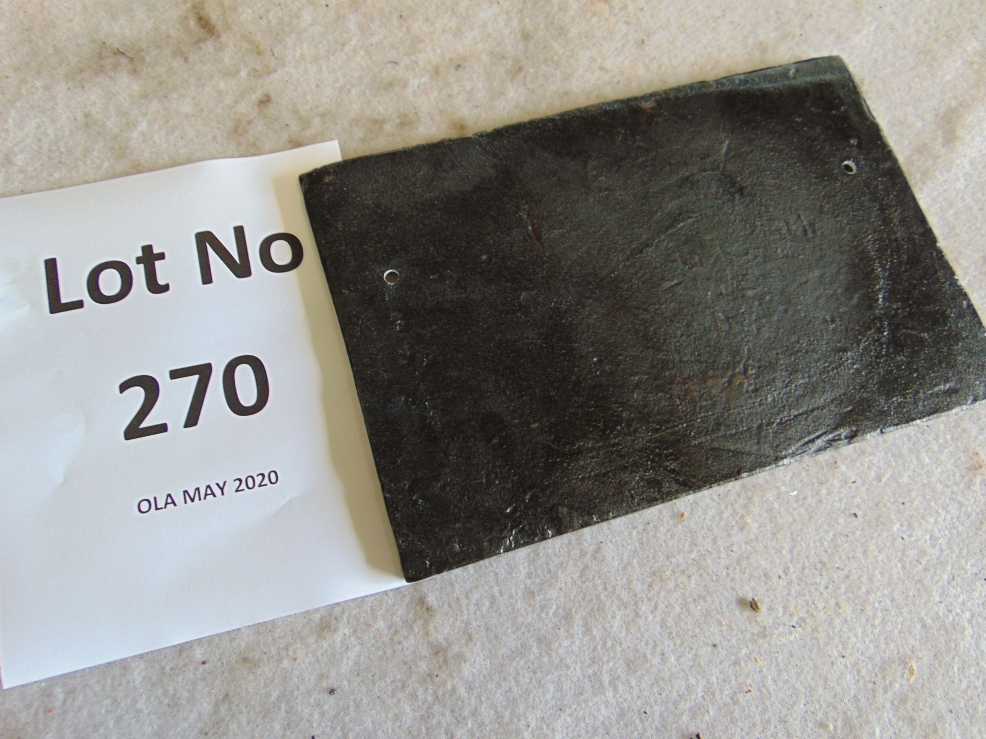 Lot 270 - Unissued Cast Iron Railway Sign