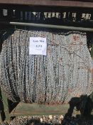 Approx 30 + Rolls of Military Grade Galvanised Security Razor Wire Unissued
