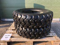 Qty 2 x 275 / 80 R 20 Michelin XZL Tyres Unused