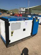 Unused 70 KVA Silenced 3 Phase Diesel Generator