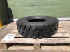 8.25 R 15 Double coin REM6 heavy duty industrial tyre, unused with bobbles