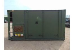 Unissued and unused IBDS fully Insulated and Sealed 16 ft x 8ft Cabin with twist locks