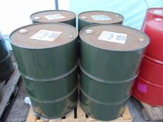 4 x Unused 200L Drums of OM-33 High Quality Mineral Based Hydraulic Oil