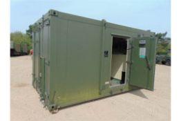 Unissued from Nato Reserve Stocks IBDS (Integrated Biological Detection System) 16 ft x 8ft Cabin