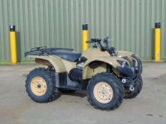 Recent Release Military Specification Yamaha Grizzly 450 4 x 4 ATV Quad Bike ONLY 75 Miles!!!