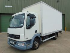 2009 Leyland Daf FA LF45.140 08 Box Truck c/w Tail Lift ONLY 20,189 MILES!