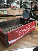 Wooden Coca Cola Box