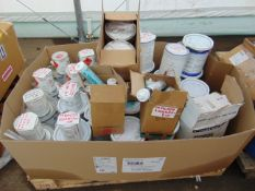 Approx 80 x Tubs of Various Paints, Sealants etc