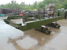 Unissued NATO RESERVE Rough Terrain Container Handler Frame and Forklift Kit
