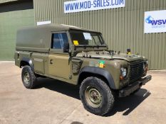 UK MOD Land Rover Defender Wolf 110 hardtop RHD
