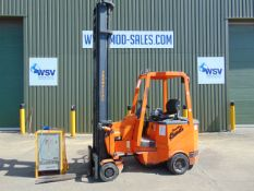 Translift Bendi Electric Reach Fork Lift Truck ONLY 264 hours! MOD Contract Fully Refurbished 2006