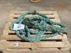 1 x Heavy Duty AFV Nato Recovery Rope