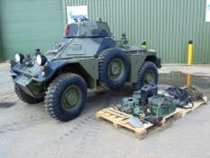 Ex Reserve Daimler Ferret Mk 2/3 Scout Car 32 miles only !