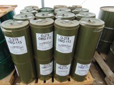 32 x Unused 25L Drums of OMD-113 High Quality Engine Oil.