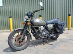 Moto Guzzi V50 V Twin NATO Dispatch Motorbike direct from Nato Storage.
