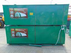 Heavy Duty Storage Shelter 40'W x 80'L x 20' H