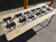 6 x Vehicle Fire Extinguisher Mounting Brackets