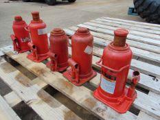 Q 5 x Norco 20 Tonne Hydraulic Jacks