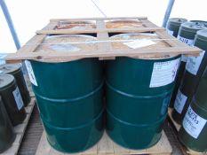 4 x Unused 200L Drums of Ultra-Safe OX-40 High Quality Hydraulic Fluid