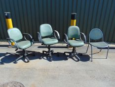 4 x Office / Lab Chairs