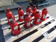 Qty 8 x Norco 20 Tonne Hydraulic Jacks