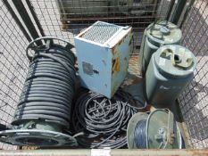 Generator Cable, Cable Reels, Dehumidifier, Filters etc