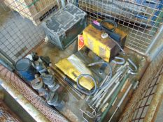 Land Rover Jacks, Electric Welder, Tool Box, Pumps etc